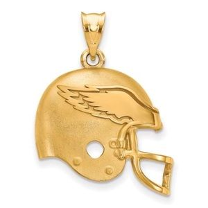 Jewelry - 925 Sterling Silver Philadelphia Eagles NFL Helmet
